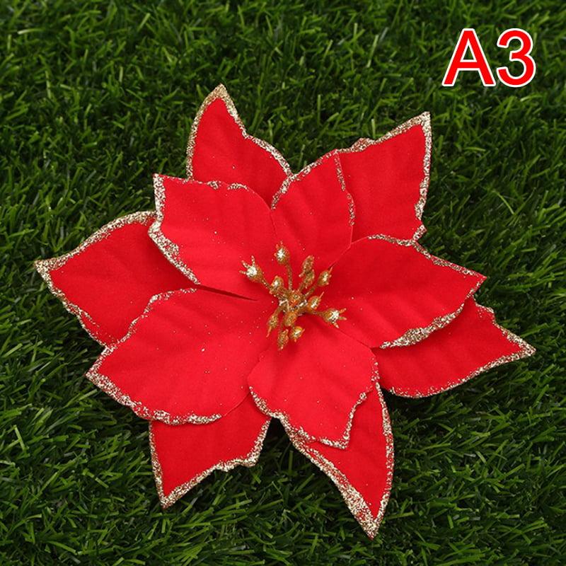 Ostrifin 5pcs Artificial Flower Children Birthday Party Decoration Christmas Decor Walmart Com Walmart Com