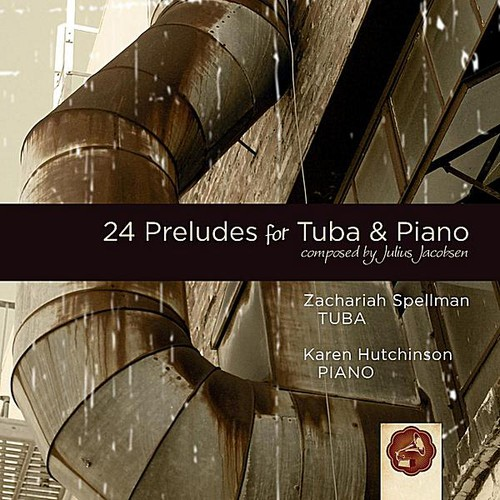 Jacobsen: 24 Preludes for Tuba & Piano by
