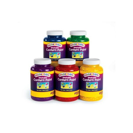 Colorations Confetti Paint - Set of 5 (Item # FETISET)