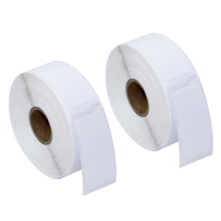 30336 Multi Purpose Labels (GREENCYCLE 2 Roll (500 Labels/Roll) Small White Multipurpose Label Compatible for Dymo 30336 1''(25mm) x 2-1/8''(54mm) LabelWriter Printer,BPA Free)