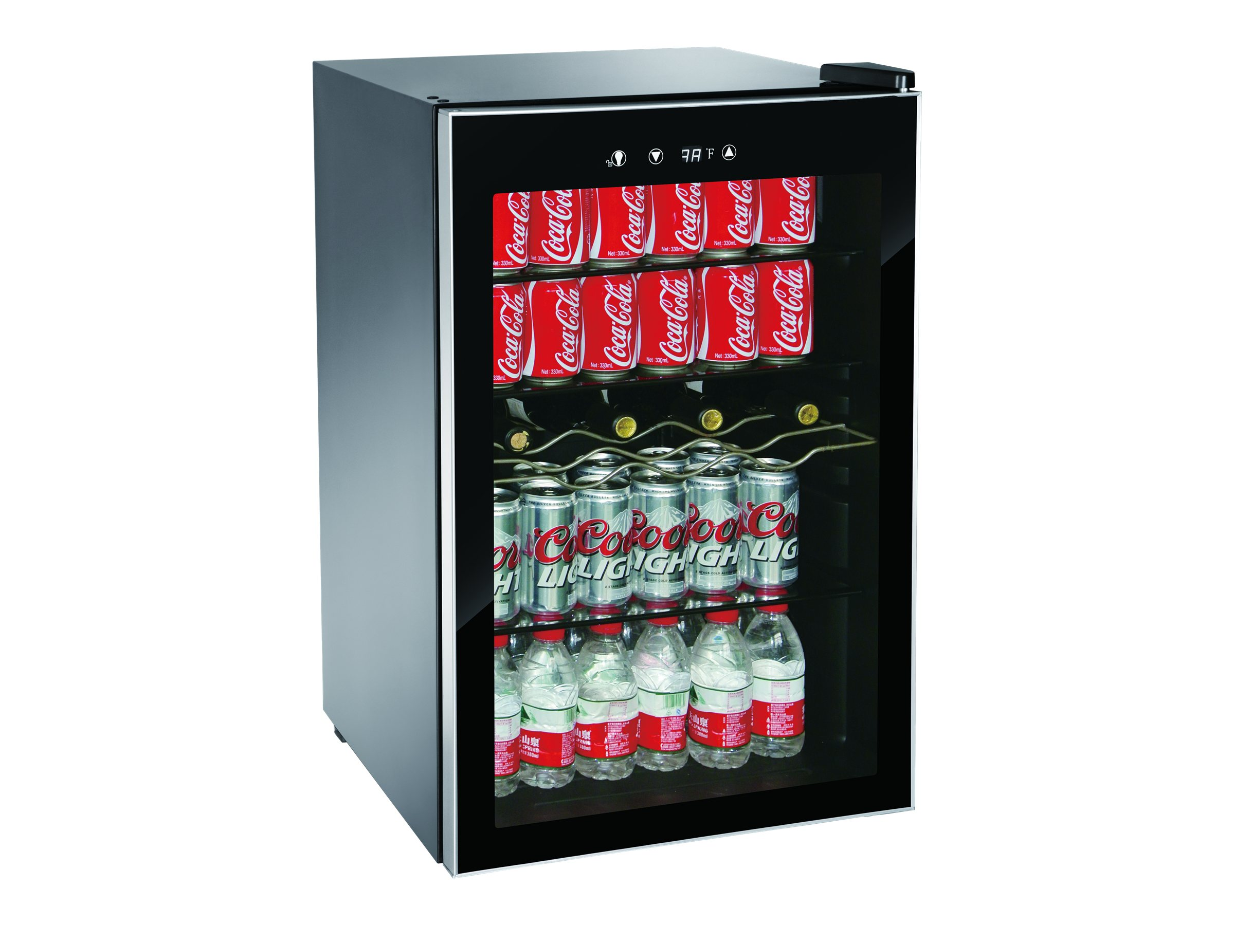 Igloo 110 Can Adjule Temp Beverage And Wine Center Black Com