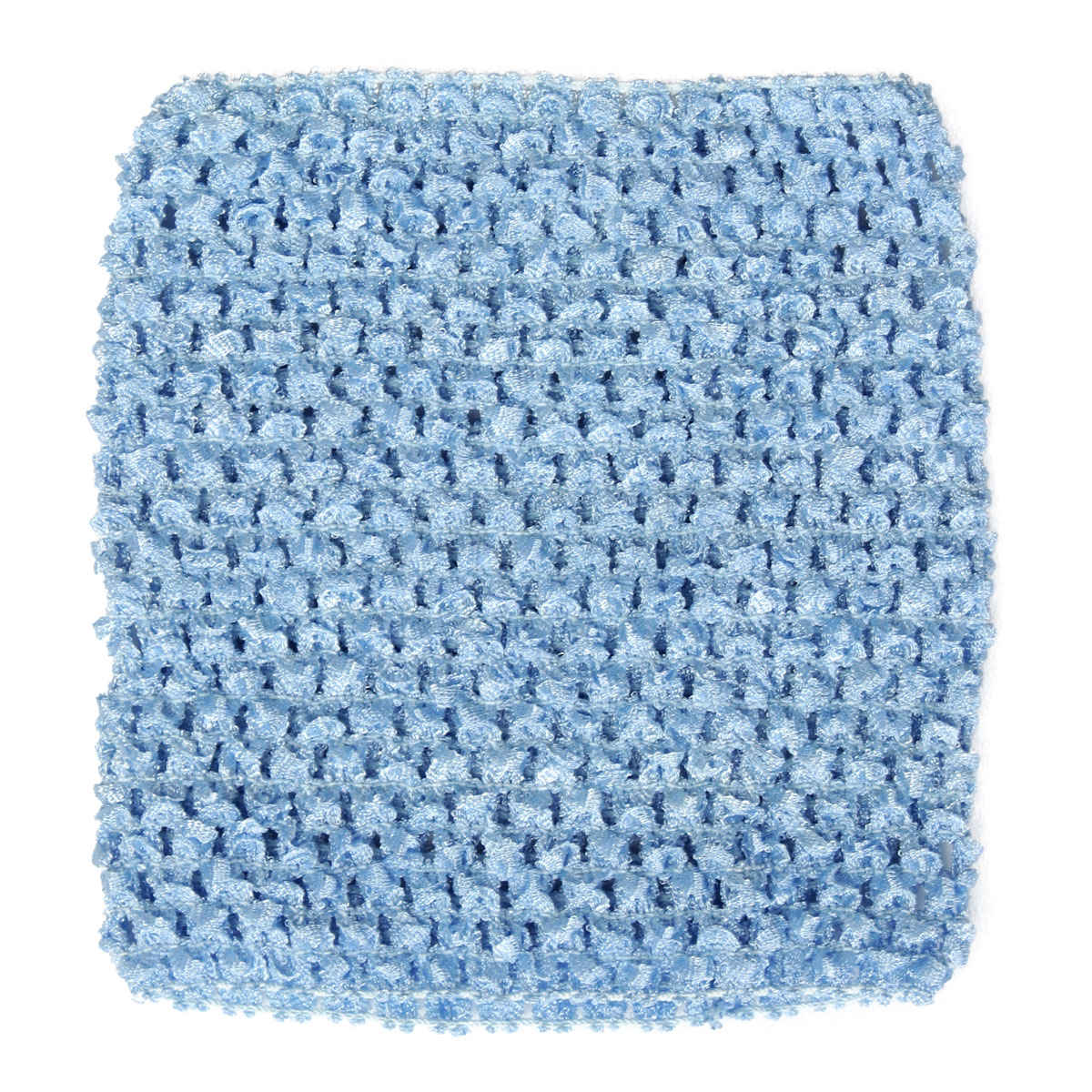 Woven Crochet Tube Top Elastic Waistband Headband For Baby Girls Tutu Dress DIY 15cm x 14cm