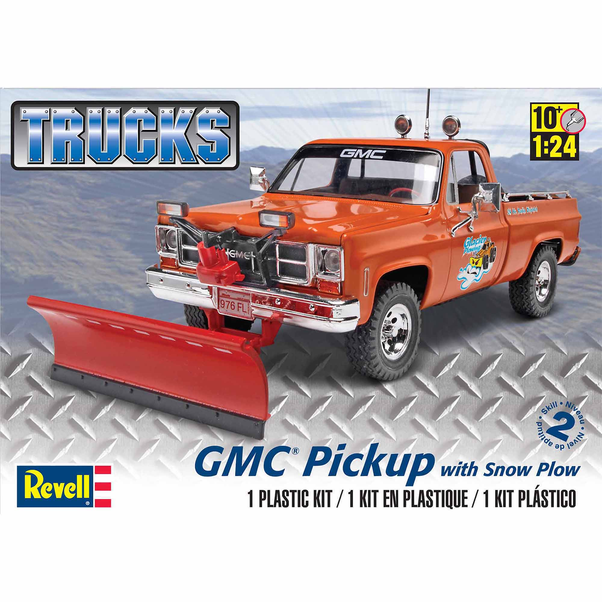 Revell 1:24 Scale GMC Pickup with Snow Plow Model Kit
