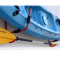 Kayak Wall Rack,Kayak Rack,Zerone 1Pair Kayak Storage Rack Hanger Supporter Carrier Surfboard Holder Wall Bracket