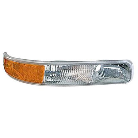 1999-2002 Chevrolet Silverado 1500  Passenger Side Right Under Head Lamp Parking, Signal and Side Marker Lamp V