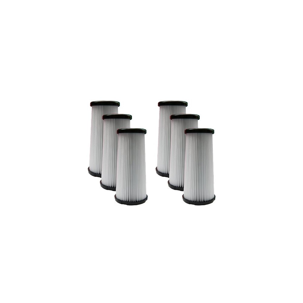 (6) Kenmore DCF-5 Pleated HEPA Tapered Filter w/activated...