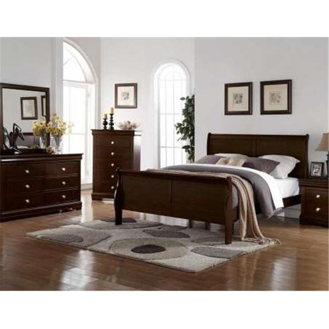 Steve Silver RE595SS-120C Monte Carlo Bed Headboard - Queen
