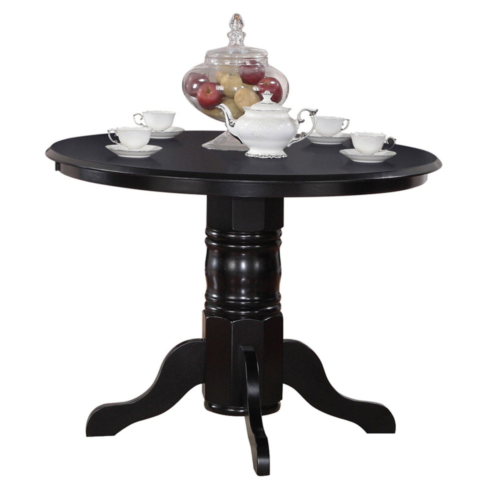 East West Furniture Shelton 42 Inch Round Pedestal Dining Table