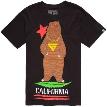 FATAL CLOTHING Street Wear California Gold Bear T-Shirt M L XL XXL NEW ()