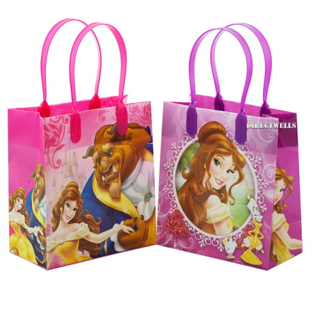 Disney Princess Belle Beauty and The Beast 12 Reusable Small Goodie Bags 6