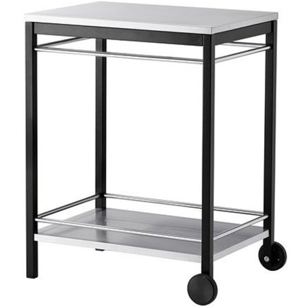 Ikea Serving cart, outdoor, stainless steel black 183838.11526.26 ()