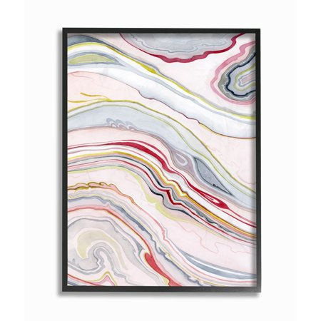 The Stupell Home Decor Collection Blue Pink Red Green Watercolor