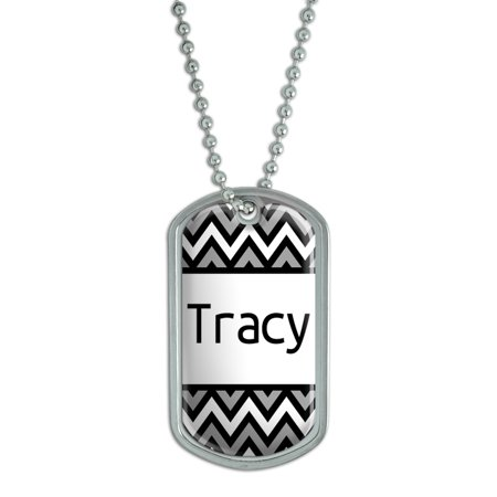 Male Names - Tracy - Dog Tag