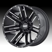Moto Metal MO978 Razor Machined Black 20x12 8x170 -44mm (MO97821287544N)