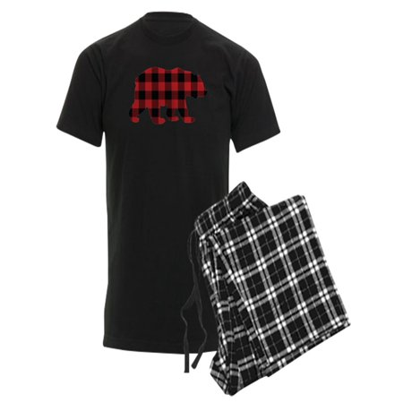 CafePress - Buffalo Plaid Bear - Men