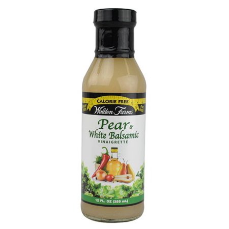Walden Farms Pear & White Balsamic Vin Salad Dressing 12 Ounce By Walden (Pear Salad Dressing)