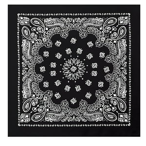 Black - Trainmen Jumbo Bandana 27 in. x 27 in.