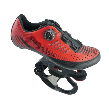 Venzo Road Bike For Shimano SPD SPD SL Look Cycling Bicycle Shoes & Pedals