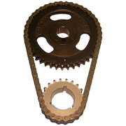Cloyes C-3054X Heavy Duty Timing Set; Incl. Machined Cam Sprocket; 3 Keyway Crank Sprocket; Double Roller Chain;