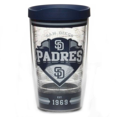 San Diego Padres Tervis 16oz. Classic Wrap Tumbler with Lid - No Size
