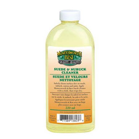 Suede & Nubuck Cleaner - 220 ml/ 7.4oz (Best Smelling Leather Cleaner)