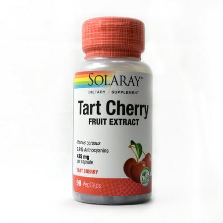 Solaray Tart Cherry 425 mg - 90 Vegetarian Capsules