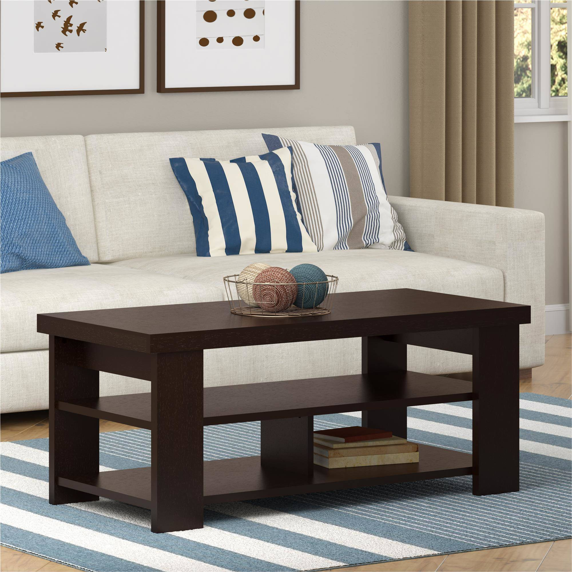 Larkin Coffee Table by Ameriwood, Multiple Finishes