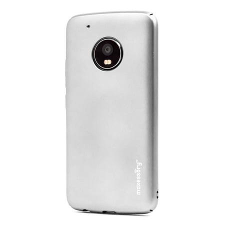 online retailer 6d24c 1df84 Motorola Moto G5 Plus Case, Maxessory Operative Ultra-Thin Full-Body  Lightweight Impact Slim Hard-Back Protective Premium Drop-Proof Plain Shell  Cover