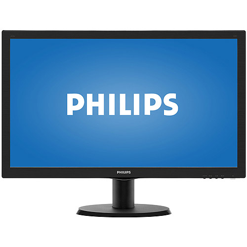 """Philips 23.6"""" LED 1080p Full HD Monitor (YL9105 Black) by Philips"""