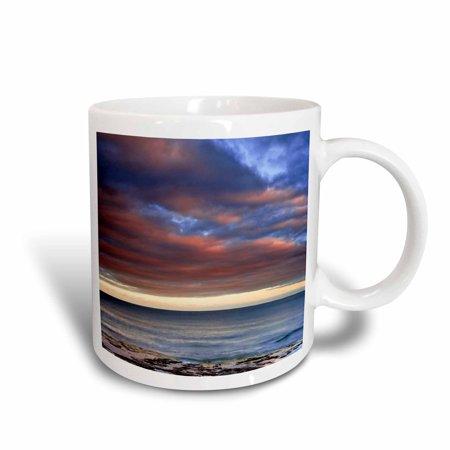 3dRose Wisconsin. Sunrise on shore of Lake Michigan - US50 BJA0010 - Jaynes Gallery, Ceramic Mug, 15-ounce