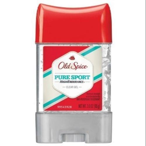 Old Spice High Endurance Anti-Perspirant Deodorant Clear Gel Pure Sport 3 oz