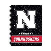 NCAA Nebraska Cornhuskers 1 Subject Notebook, 70 Sheets, College Rule