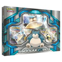 Pokemon Snorlax GX Box Trading Cards