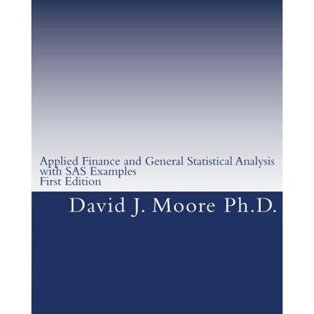Applied Finance And General Statistical Analysis