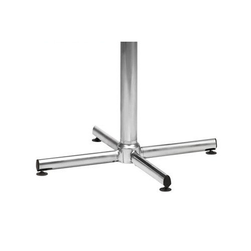 Virco Lunada 22'' X-Shaped Steel/Aluminum Base