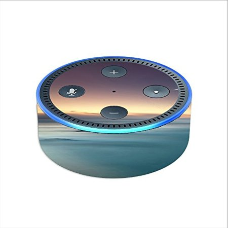 Skin Decal Vinyl Wrap For Amazon Echo Dot 2  2Nd Generation    Foggy Lake