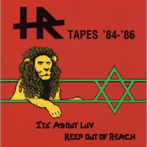 THE H.R. TAPES includes the EP IT'S ABOUT LUV and the KEEP OUT OF REACH single.