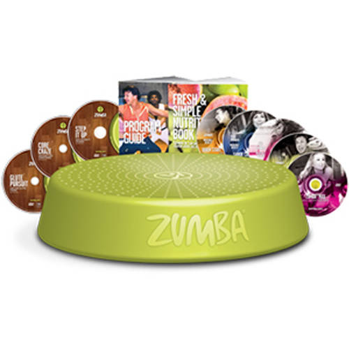 Zumba Incredible Results Deluxe DVD System by