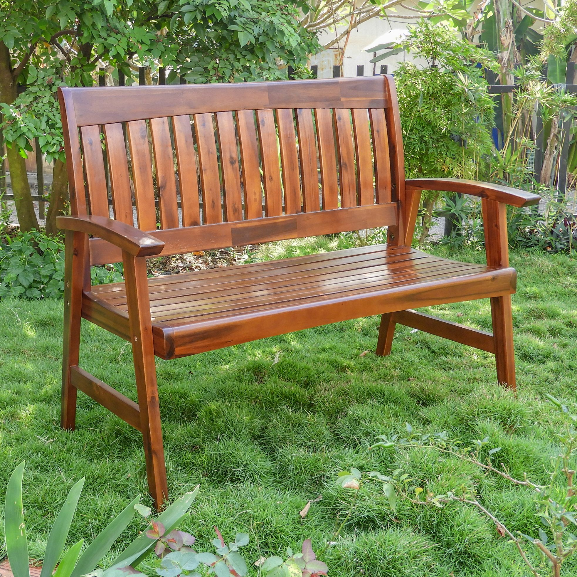 Highland Acacia Americana Bench