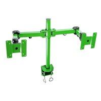 MonMount Stand Desk Clamp Height Adjustable 2 Screen Desk Mount