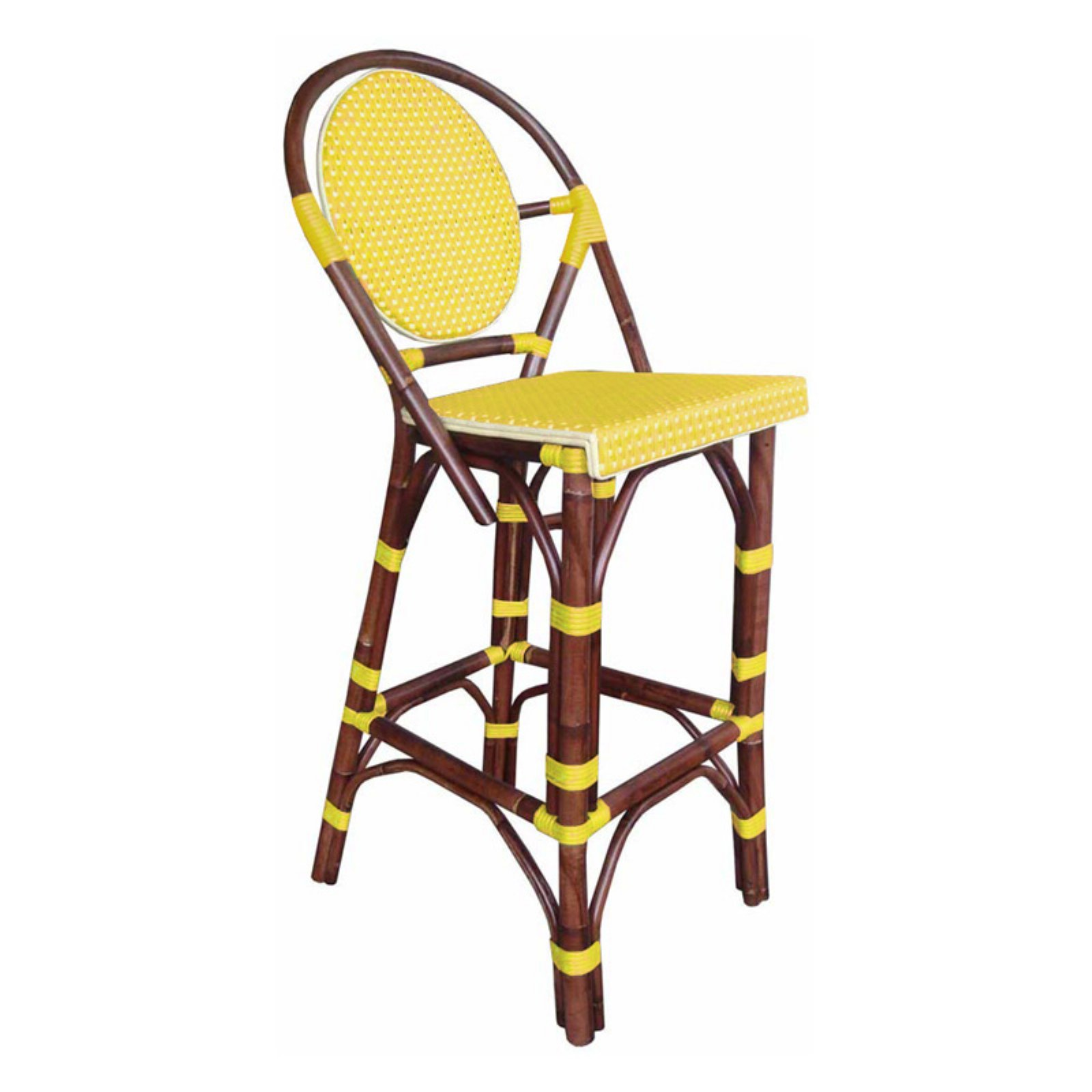Padmas Plantation Paris Patio Bistro Barstool