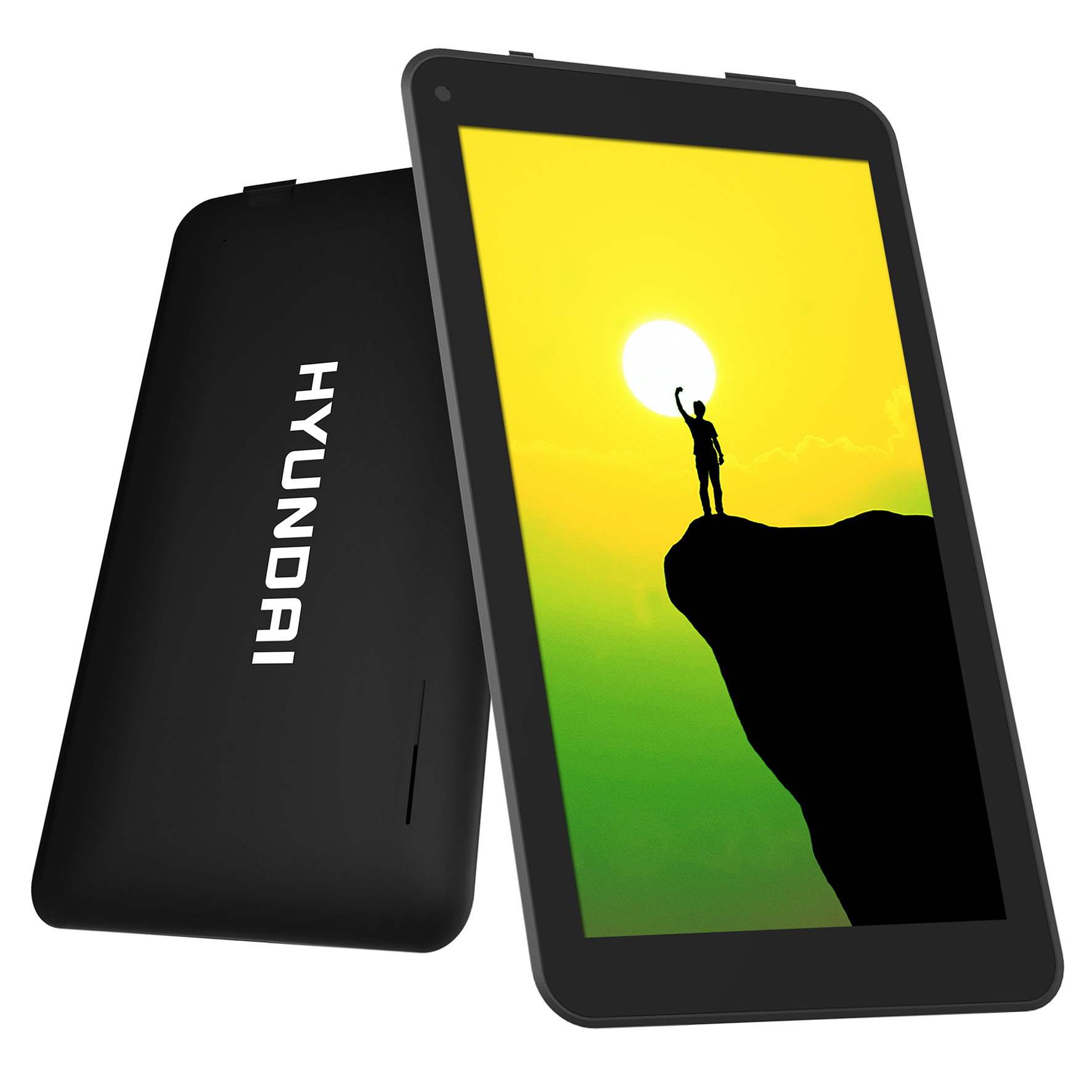 "Hyundai Koral 7W2 7"" Android 7.0 Tablet 8GB with 1024x600 IPS & 2/2MP Camera - Black [HT0702W08A]"