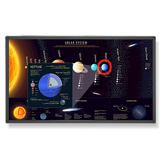 "65"" Large Format Touch Display"
