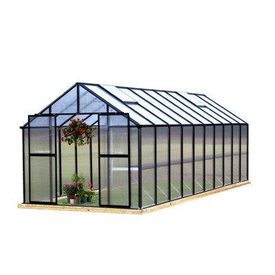 Monticello Monticello 8 x 12 ft. Premium Greenhouse Kit - Walmart.com