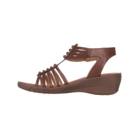 e4d84edd3ac BareTraps - Bare Traps Womens HInder Open Toe Casual Ankle Strap Sandals