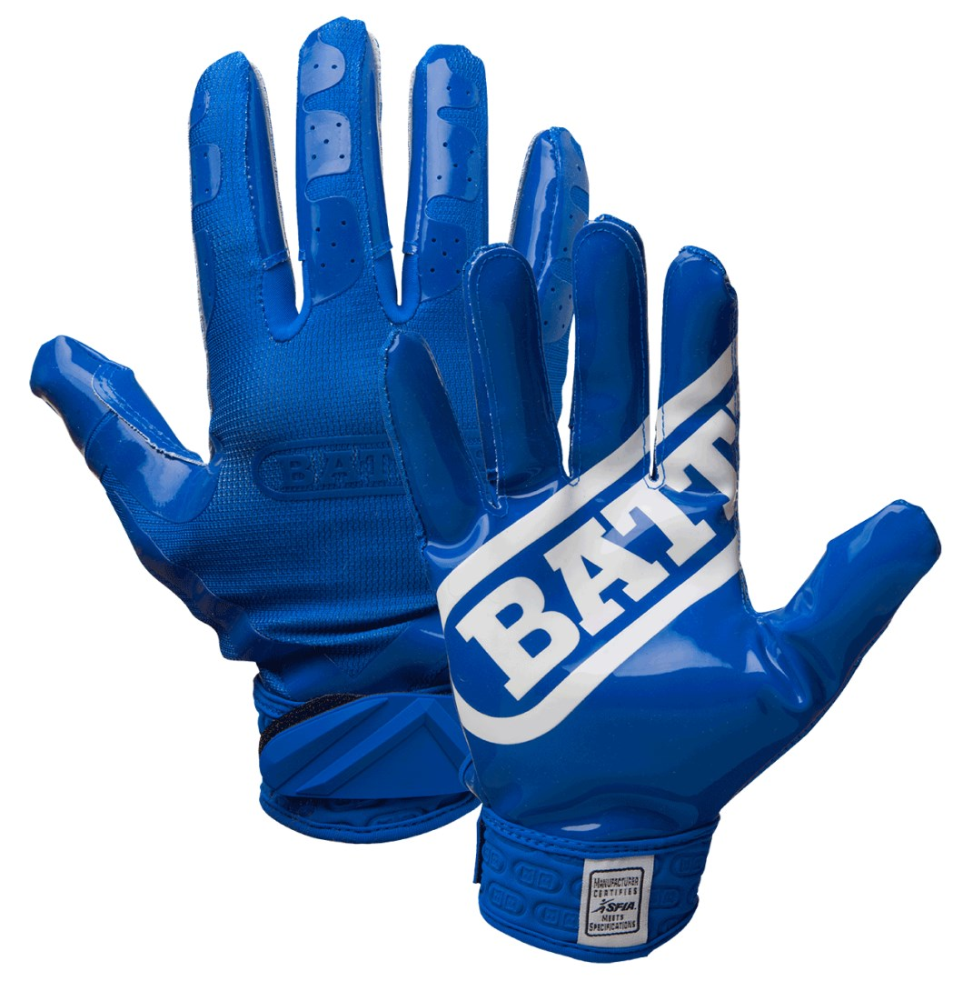 Battle Sports Science Double Threat Adult Receiver Gloves ( 932X-A )