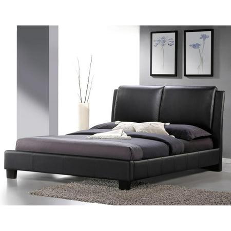 Baxton Studio Sabrina Upholstered Platform Bed