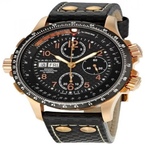 Men's Hamilton Khaki Aviation X-Wind Automatic Chronograph Watch by Hamilton