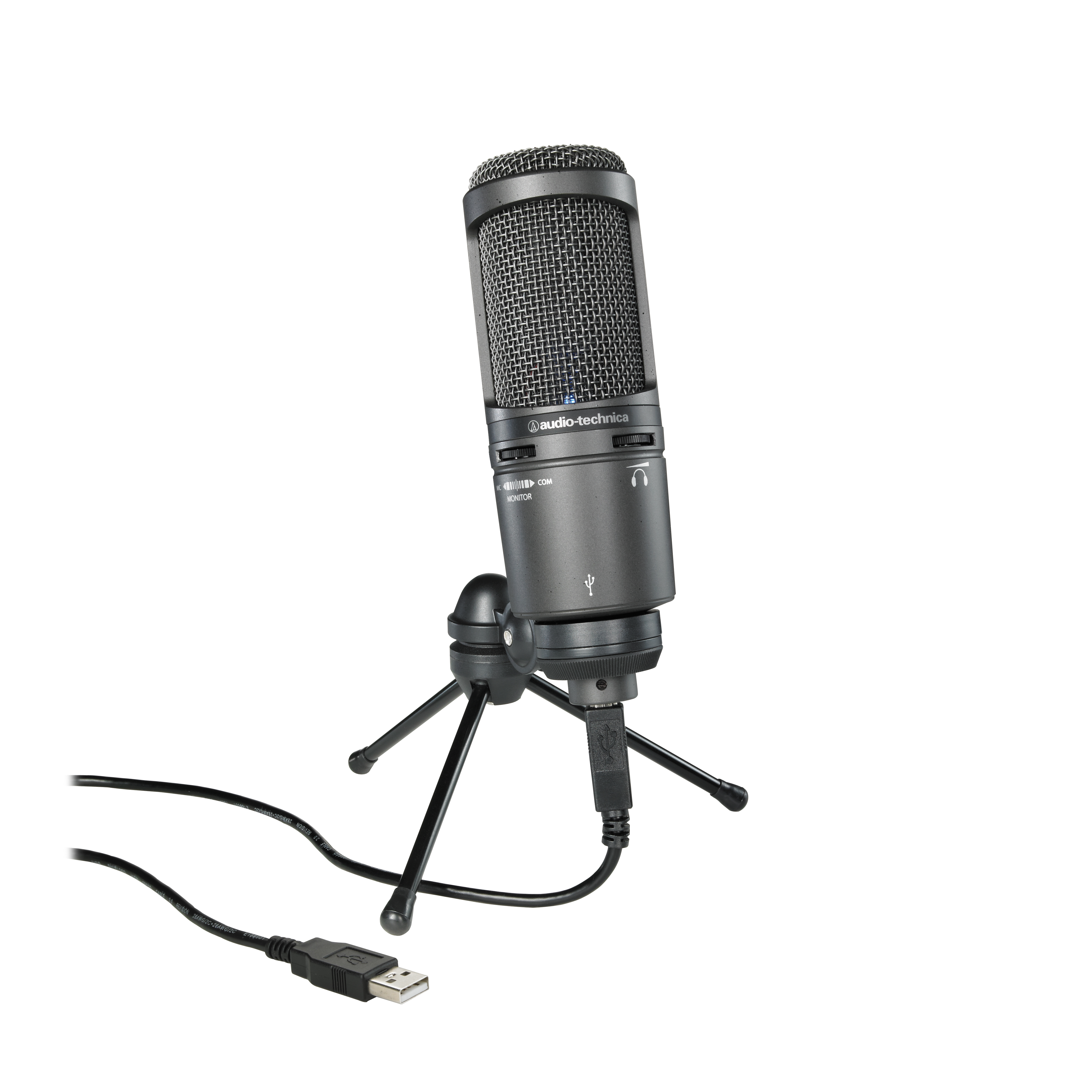 Audio-Technica AT2020 USB Plus Condenser Microphone by unknown