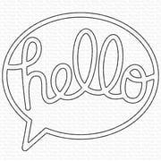 My Favorite Things Vault Die-namics Die-Say Hello